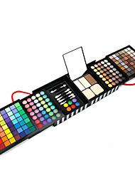 177 Paleta de Sombras Mate / Brilho Paleta da sombra Creme Grande Maquiagem para o Dia A Dia
