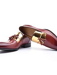 Herren-Outdoor-Büro Party & Festivität-LederKomfort formale Schuhe-Schwarz Braun