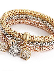 Bracelet Charm Bracelet Alloy Daily / Casual / Sports Jewelry Gift Gold,1pc