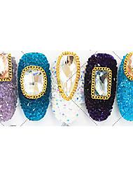 100 Manucure Dé oration strass Perles Maquillage cosmétique Manucure Design