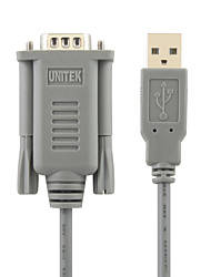 UNITEK USB2.0 To RS232 High Speed Cable 1.5M
