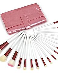 18 Set di pennelli Pennello di capra Professionale / Portatile Legno Labbro / Viso / Occhi Altro