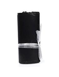 schwarz wasserdichte Plastiktasche Größe 20 * 35cm (ein Bündel von 100)