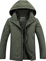 Trilha Blusas Homens Respirável / Mantenha Quente Outono / Inverno Náilon Chinês Preto M / L / XL / XXL / XXXLAcampar e Caminhar /