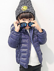 Boy Casual/Daily Solid Sweater & Cardigan,Cotton / Wool Blend Winter / Fall Long Sleeve Regular