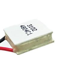 semicondutores arrefecimento filme tes1-03102 15 * 15mm 3v2a