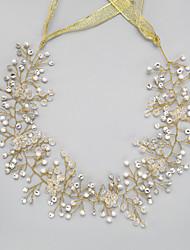 Femme Strass Cristal Imitation de perle Casque-Mariage Occasion spéciale Serre-tête 1 Pièce