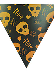 1pc fanion drapeaux suspendus pour costume de halloween