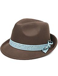 Unisex Wool Bucket Hat / Sun Hat,Cute / Party All Seasons