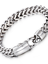 Kalen® New Fashion Link Chain Bracelet 316L Stainless Steel Jewelry High Polished Hand Chain  Men's Accessory Gift