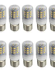 4.0 E26/E27 Bombillas LED de Mazorca T 48 SMD 2835 280 lm Blanco Cálido / Blanco Fresco Decorativa AC 85-265 / 09.30 V 10 piezas