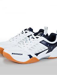 unisex executando calçados esportivos caem conforto pu / microfibra plataforma atlético lace-up azul / cinza badminton