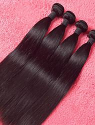 Человека ткет Волосы Малазийские волосы Прямые 4 предмета волосы ткет