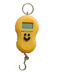 Portable Hook Scale (Yellow)