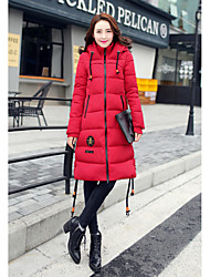 Sign 2016 new winter long section of thick down jacket women large size fashion Slim down coat jacket 8619