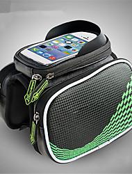 Bolsa para Quadro de Bicicleta Multifuncional / Telefone Ciclismo Nailom Amarelo / Verde / Vermelho / Rosa / Azul ROCKBROS
