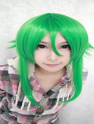 55см тройник зеленый Vocaloid гуми синтетические моды аниме женщины волосы костюм партии парик косплей