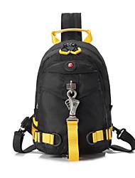 Casual Outdoor Backpack Men Nylon Green Black