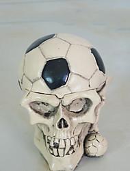 1pc Halloween-Stützen Aschenbecher Ornamente Skelett Kopf Partei Ornamente tanzen