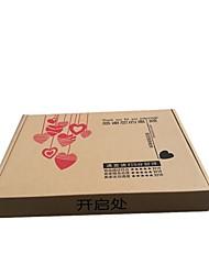 noter la boîte de plan taille moyenne taille 36 * 26 * vêtements emballage carton'S 5cm femmes
