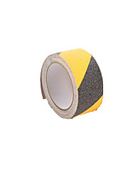(Nota de 500 centímetros * 5cm *) de fita antiderrapante preto e amarelo