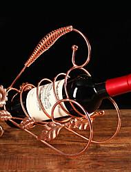 Garrafeira Ferro Fundido,26*9.5*23.5CM Vinho Acessórios
