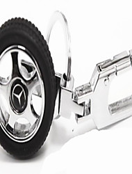 drehbaren Reifen Schlüsselanhänger