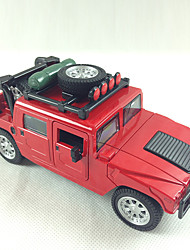 Action Figure / Play Vehicles Model & Building Toy Car Metal Red / Green / Yellow For Boys Above 3