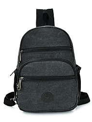 Women Canvas Casual Backpack Green / Black / Khaki