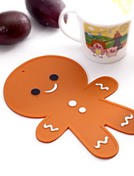 Gingerbread Man Silicone Mat -May Fifteenth