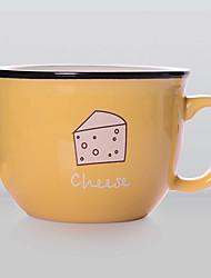 1PC Color Random Original Newfangled Culinary The Household Restaurant Supplies Ceramic Teacup Coffee Mug