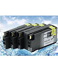 compatible avec hp hp 7610 cartouches d'imprimante hp hp932xl 7110 cartouches d'encre (volume d'encre d'affichage) c / m / y / k