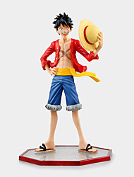 One Piece Monkey D. Luffy PVC 15cm Figures Anime Action Jouets modèle Doll Toy