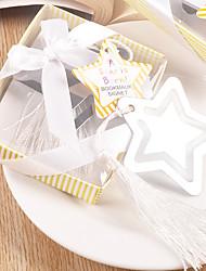Festa de Casamento Party Favors & Gifts-1Peça/Conjunto Presentes Fitas Metal Cubóide Não-Personalizado Prata