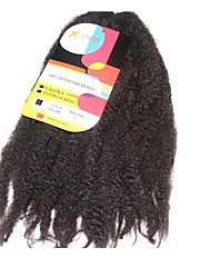 Crochet Pré-boucle Tresses crochet Extensions de cheveux 18Inch Kanekalon Recommended Buy 4 Packs Full Head Brin 80g gramme Braids Hair