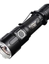 Iluminação Lanternas LED LED 1100 Lumens 5 Modo Cree 18650.0 Regulável / Tamanho Compacto Campismo / Escursão / Espeleologismo / Exterior