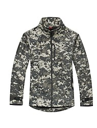 Hiking Tops Men's Breathable / Thermal / Warm / Windproof Fall/Autumn / Winter Memory Foam Camouflage / Army GreenS / M / L / XL / XXL /