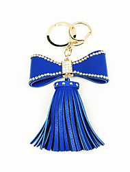 Bowknot Tassel Car Key Ring