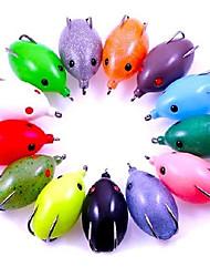 1 pcs Angelköder Frosch Zufällige Farben 16 g Unze mm Zoll,Fester Kunststoff Köderwerfen