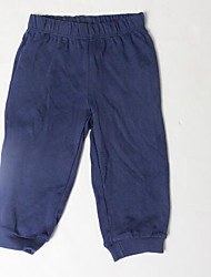 Baby Casual/Daily Solid PantsCotton Fall Black / Blue