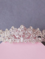 The Bride Headdress European-Style Boutique Crystal Big Crown Wedding Jewelry