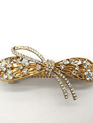 Women Gold Plated / Rhinestone Hair Clip,Cute / Party / Work / Casual
