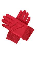 Note pack 4 vendu en couleur rouge gants d'équitation en plein air