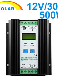 500W 30A Wind Solar Hybrid Charge Controller DC 12V PWM Control With LCD YS1230