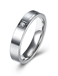 Endless Love Engrave Frosted Polished Silver Band Stainless Steel Wedding Rings For Couples Fashion Mens Womens Ring