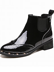 Women's Short Boots / Motorcycle Boots / Rivet Combat Boots Office & Career / Party & Dress