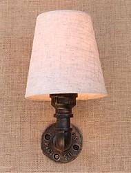 AC 220v-240v 3w e27 bg816 деревенское / лоджии латуни особенность для лампы includedambient света стены бра настенный светильник