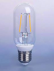 2W E26/E27 Ampoules à Filament LED P45 2 SMD 5730 140 lm Blanc Chaud Décorative V 1 pièce