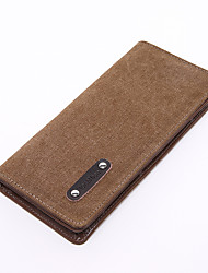 Men Canvas Casual Wallet