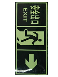 Pvc Security Exit Logo From The Light To Paste    Two One To Sell